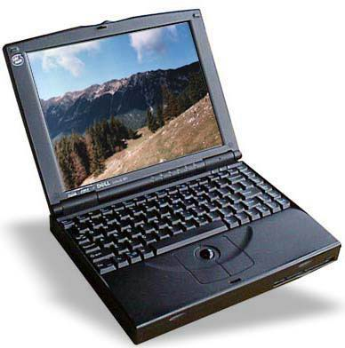 Portable Dell Latitude XPi CD P150ST