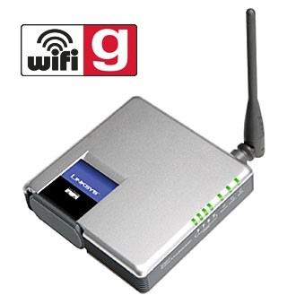 Routeur WiFi 54mbps LINKSYS WRT54GC switch 4 ports