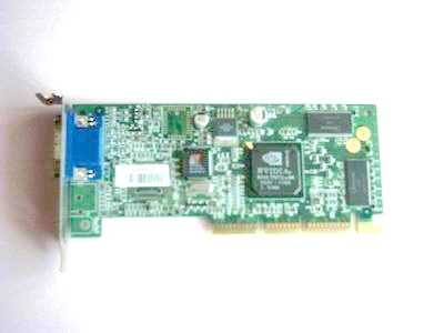 Carte graphique Nvidia Riva TNT2-64 AGP Low Profile