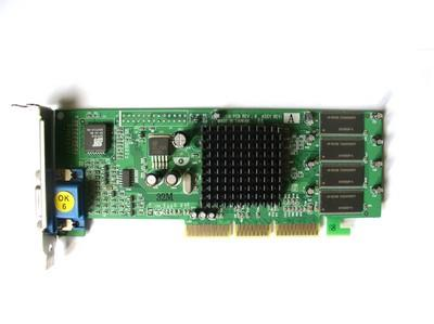 Carte graphique Nvidia TNT2 M64 32M AGP Low Profile